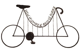 Huddersfield Star Wheelers Humber Bridge Logo